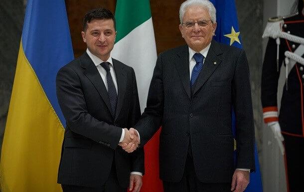 Зеленский обсудил в Италии интеграцию в НАТО и ЕС