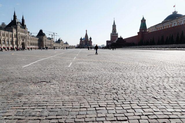 Красная площадь, 17 марта 2020